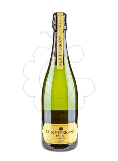 Photo Mont-Ferrant Semi Grappa sparkling wine