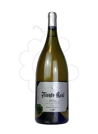 Photo Medium Sweet White Monte Real Magnum white wine