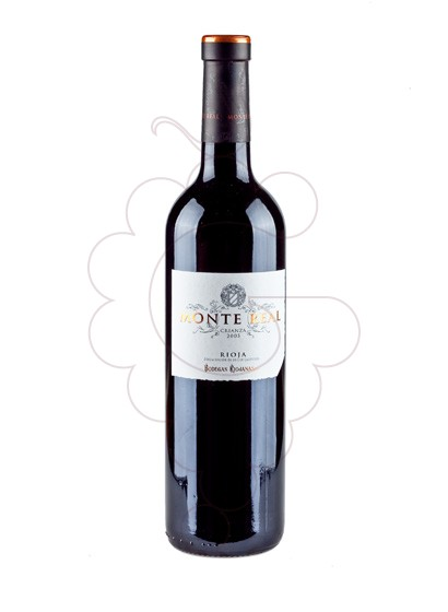Photo Monte Real Crianza red wine