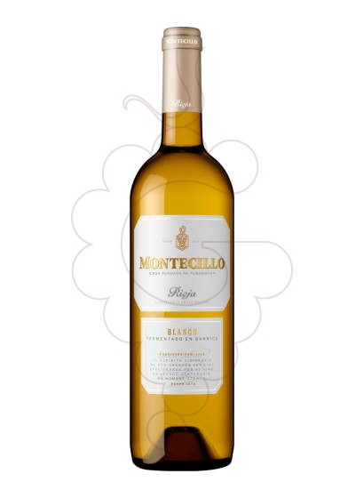 Photo Montecillo Blanc white wine