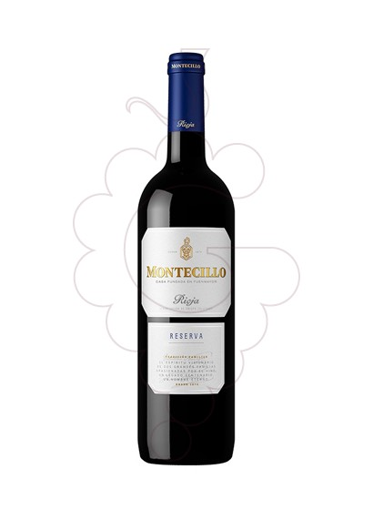 Photo Montecillo Reserva red wine