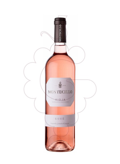 Photo Rosé Montecillo rosé wine
