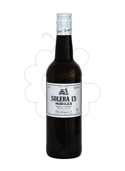 Photo Moriles Solera 13 (Barquerito) fortified wine