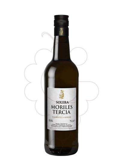 Photo Moriles Tercia Cruz Conde fortified wine