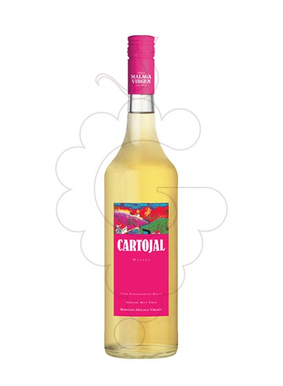 Photo Moscatel Cartojal fortified wine