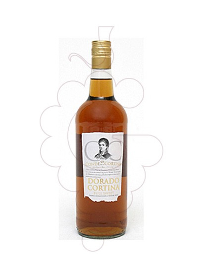 Photo Aperitif wine Moscatel Conde de la Cortina