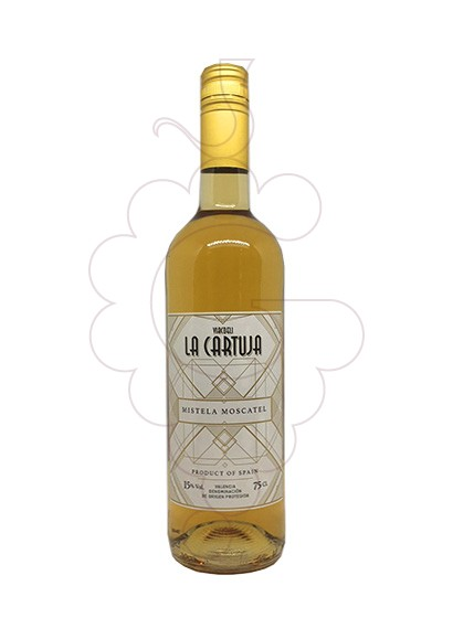 Photo Moscatel la Cartuja fortified wine