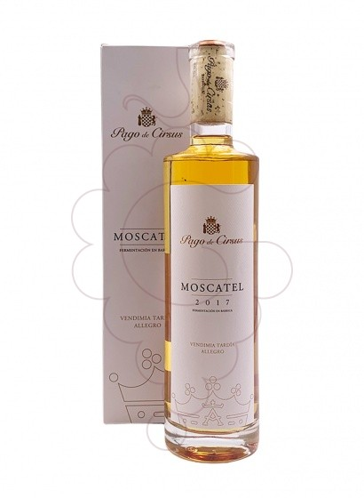 Photo Moscatel Pago de Cirsus fortified wine