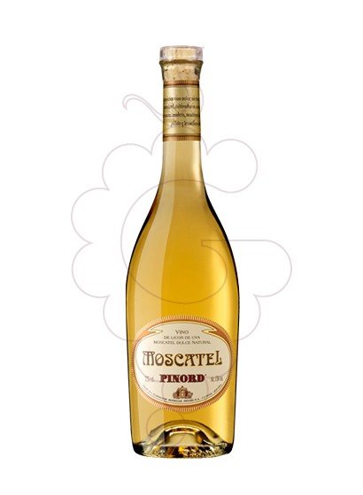Photo Moscatel Pinord fortified wine