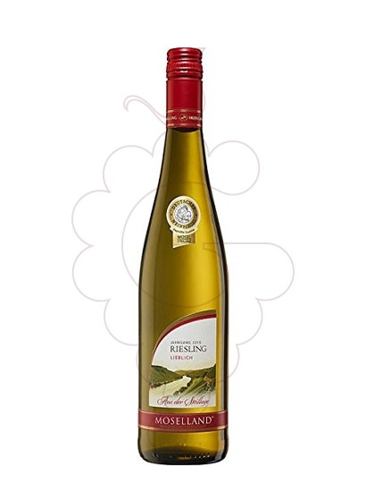 Photo Moselland Riesling white wine