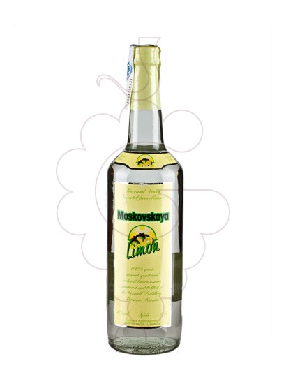 Photo Vodka Moskovskaya Limon