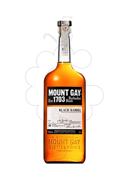 Photo Rum Mount Gay Black Barrel