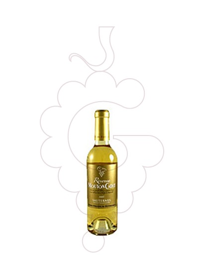 Photo Mouton Cadet Reserve Sauternes fortified wine