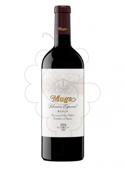 Photo Muga Reserva Selección Especial red wine