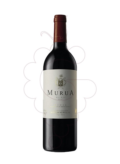 Photo Murua Reserva  red wine