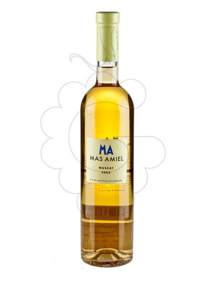 Photo Muscat Mas Amiel fortified wine