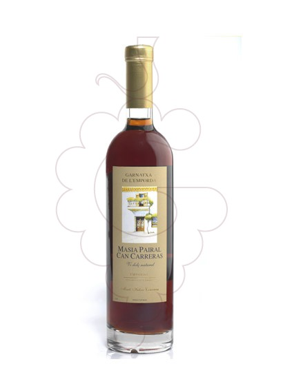 Photo Muscat Masia Pairal Can Carreras fortified wine