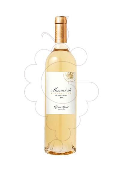 Photo Muscat Rivesaltes Dom Brial fortified wine