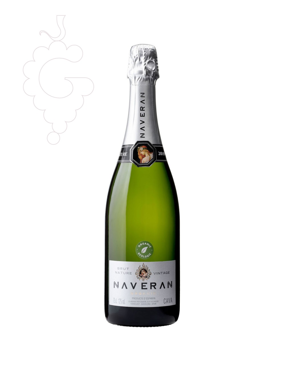 Photo Naveran Brut Nature Millessime sparkling wine