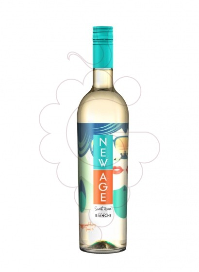 Photo New Age Blanc white wine