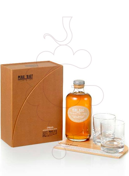 Photo Gift boxes Nikka Red Pure Malt Pack (1 u + 2 Glasses)