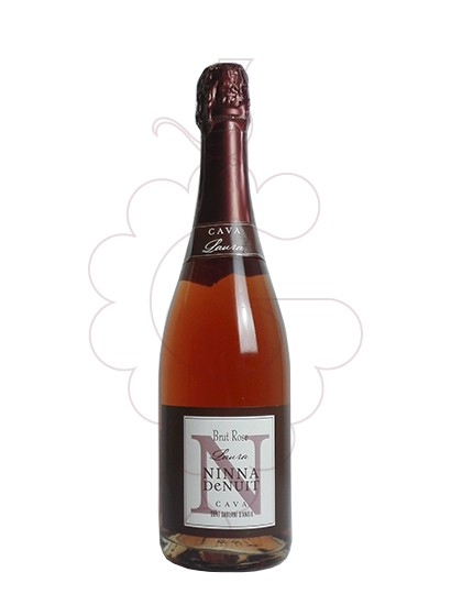Photo Ninna de Nuit Laura Brut Rose sparkling wine