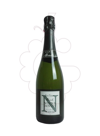 Photo Ninna de Nuit Úrsula Brut Nature sparkling wine