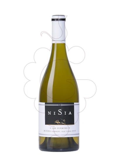 Photo Nisia las Suertes white wine
