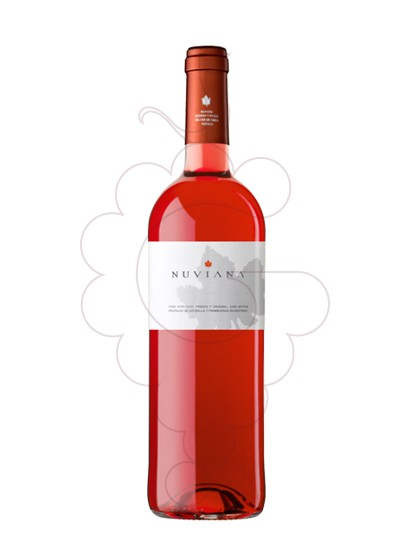 Photo Nuviana Rosat rosé wine