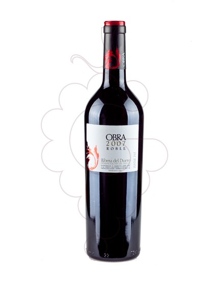 Photo Obra Roble red wine