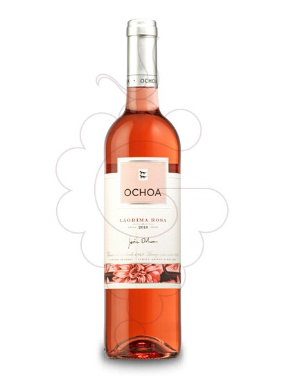 Photo Ochoa Rosado de Lagrima rosé wine
