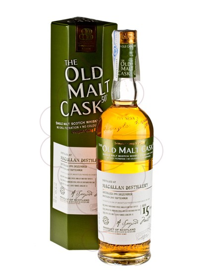 Photo Whisky Old Malt Cask  Macallan 15 Years