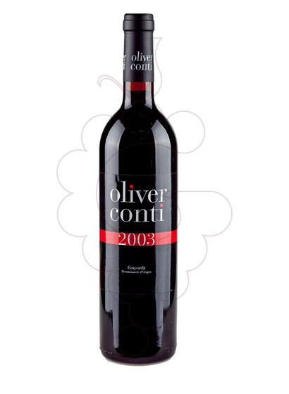 Photo Oliver Conti Negre red wine