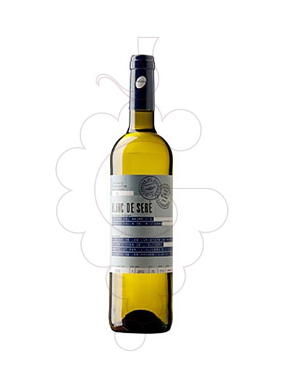Photo Olivera Blanc de Sere white wine