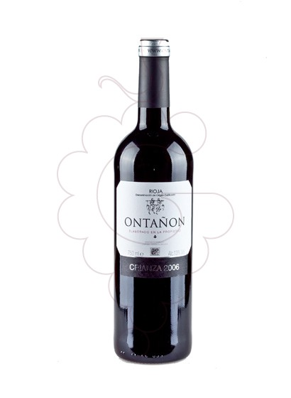 Photo Ontañon Crianza red wine