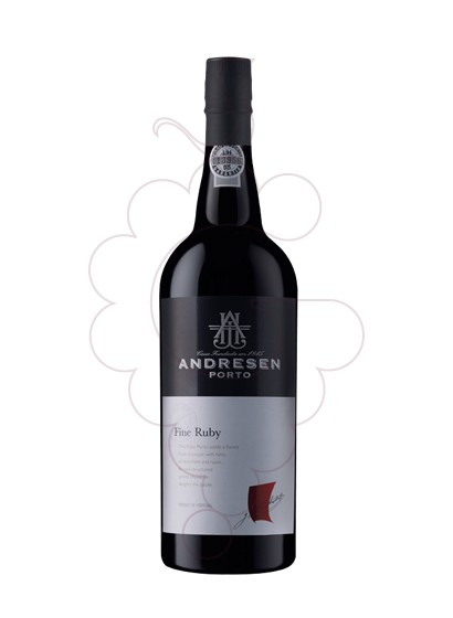 Photo Andresen Ruby fortified wine