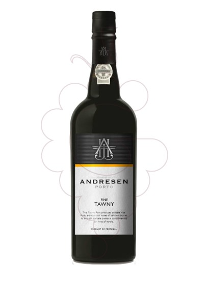 Photo Andresen Tawny fortified wine