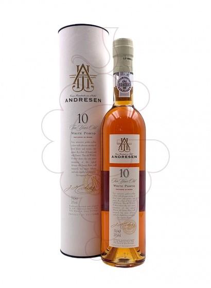 Photo White Andresen 10 Years fortified wine