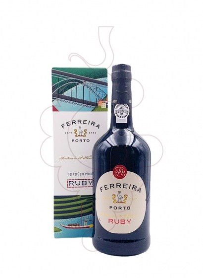 Photo Ferreira Ruby fortified wine