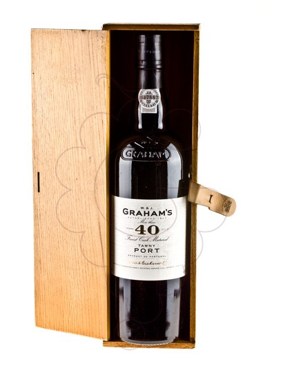 Photo Graham's 40 Years fortified wine