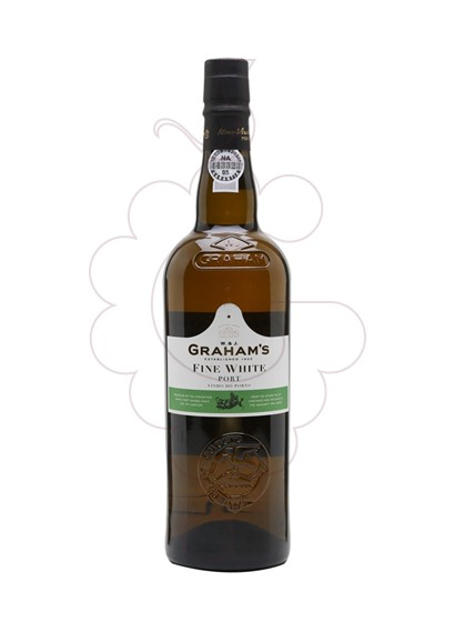 Photo White Graham's fortified wine