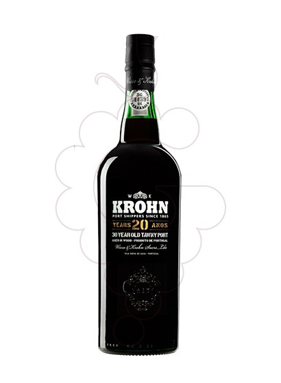Photo Krohn 20 Years fortified wine