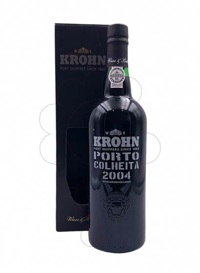 Photo Krohn Colheita fortified wine
