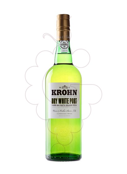 Photo Dry White Krohn fortified wine
