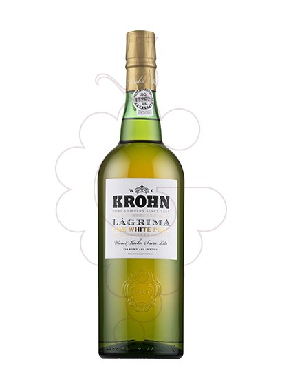 Photo White Krohn Lagrima fortified wine