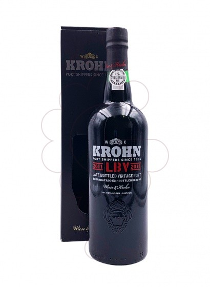 Photo Krohn L.B.V. fortified wine