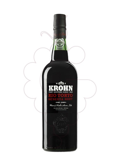 Photo Krohn Rio Torto fortified wine
