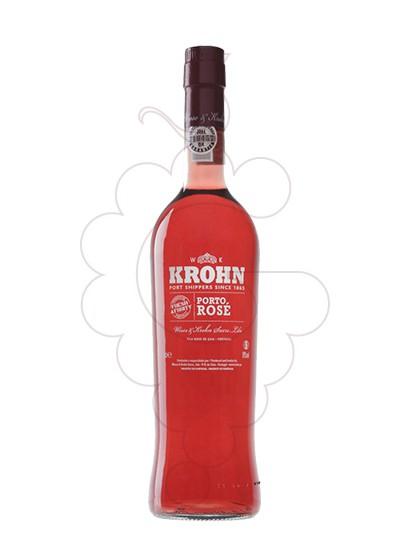 Photo Rosé Krohn fortified wine