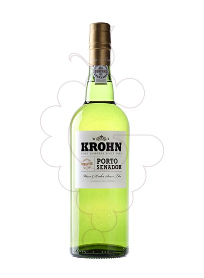 Photo White Krohn Senador fortified wine