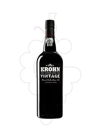 Photo Krohn Vintage fortified wine